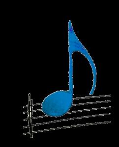 scuola di musica roma - nota musicale azzurra